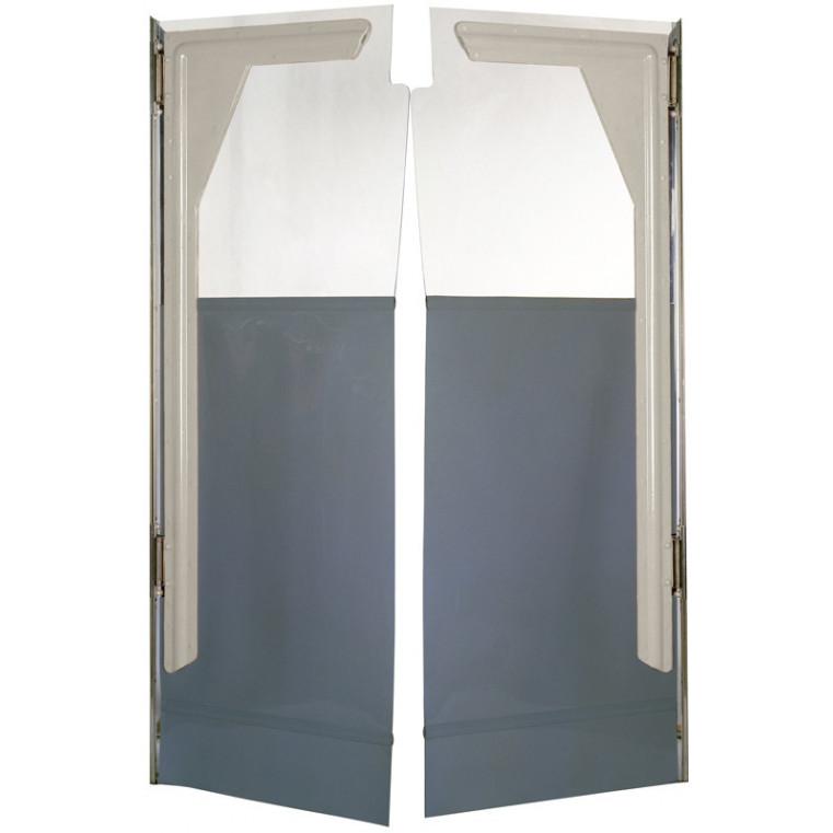 Porte souple FERMOFLEX 1 zone Charnières acier. Dim : L1200 x 1700