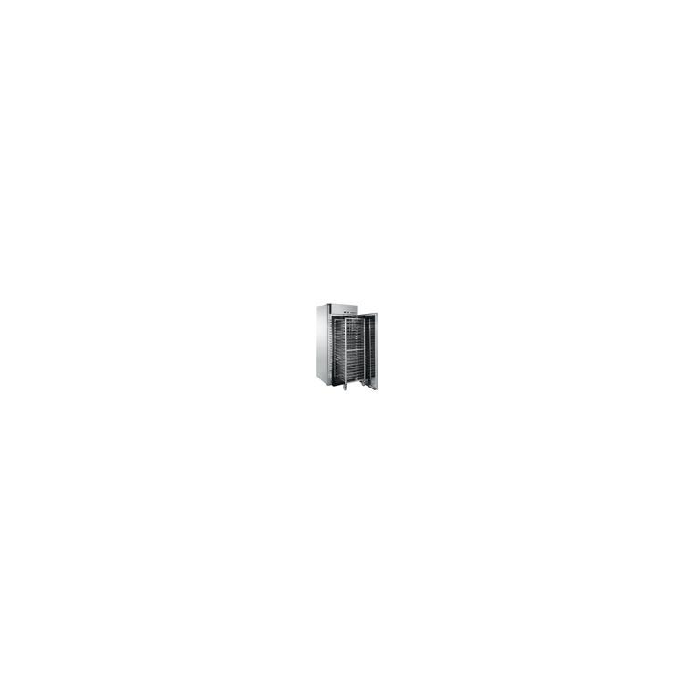 Armoire avec groupe logé - 1 porte - 1320L - capacité 1 chariot GN2-1 - inox - 985x1035x2235